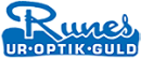 Runes Ur-Optik-Guld logo