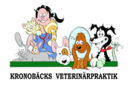 Kronobäcks Veterinärpraktik logo