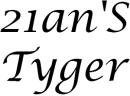 21an'S Tyger logo