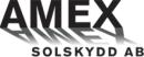 Amex Solskydd AB logo