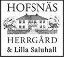 Hofsnäs Herrgård logo
