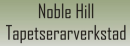 Noble Hill Tapetserarverkstad logo