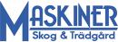 MASKINER Skog & Trädgård logo