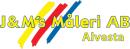 J & M Måleri AB logo