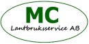 Mc Lantbruksservice AB logo