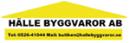 Hälle Byggvaror AB logo