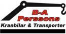 B A Perssons Åkeri AB logo