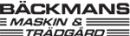 Om Bäckmans Maskin & Trädgård AB logo