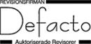 Revisionsfirman Defacto KB logo