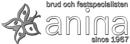 Anina Brud & Fest Specialisten logo