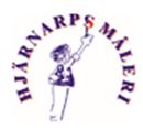 Hjärnarps Måleri AB logo
