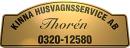 Kinna Husvagnsservice AB logo