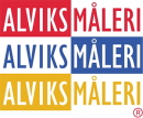 Alviks Måleri logo