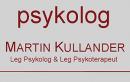 Psykolog Martin Kullander logo