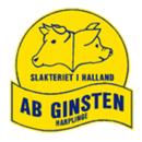 Ginsten Slakteri AB logo
