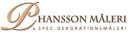 P. Hansson Måleri logo
