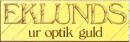 Eklunds Ur-Optik logo