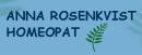 Anna Rosenkvist, Homeopat logo