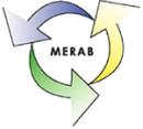 MERAB Hörbys Återvinningscentral logo