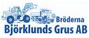 Bröderna Björklunds Grus AB logo