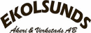 Ekolsunds Åkeri o. Verkstads AB logo