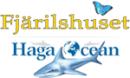 Fjärilshuset Haga Ocean logo
