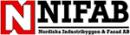 NIFAB, Nordiska Industribyggen & Fasad AB logo