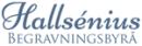Hallsénius Begravningsbyrå logo