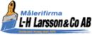 Målerifirma L-H Larsson & Co AB logo