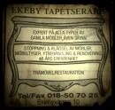 Ekeby Tapetserare logo