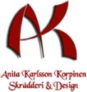 Anita Karlsson Korpinen Skrädderi & Design logo