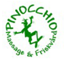 PINOCCHIO Massage & Friskvård logo