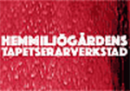 Hemmiljögårdens Tapetserarverkstad logo