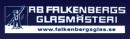 Falkenbergs Glasmästeri, AB logo