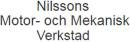 Nilssons Motor- och Mekanisk Verkstad, B logo