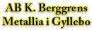 Klas Berggrens Metallia, AB logo