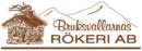 Bruksvallarnas Rökeri AB logo