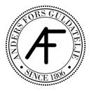 Anders Fors Guldateljé logo