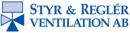 Styr & Reglerventilation AB logo