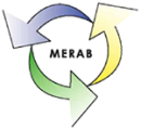 MERAB Marieholms Återvinningscentral logo