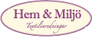 Hem & Miljö Textilinredningar logo