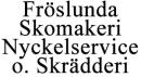 Fröslunda Skomakeri Nyckelservice Kemtvätt o. Skrädderi logo