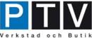 PTV Verkstad & Butik logo