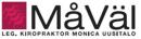 Måväl Kiropraktorklinik, Monica Uusitalo logo
