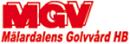 MGV Mälardalens Golvvård logo