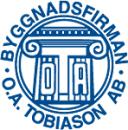 Tobiason AB, Byggnadsfirman O A logo