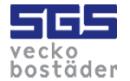 SGS Veckobostäder logo