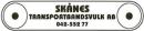 Transportbandsvulk AB, Skånes logo