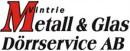 Vintrie Metall & Glas Dörrservice AB logo