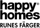 Runes Färger - Happy Homes logo